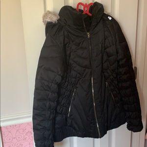 Obermeyer girls black ski coat